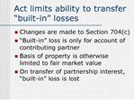 act limits ability to transfer