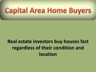 buy houses fast