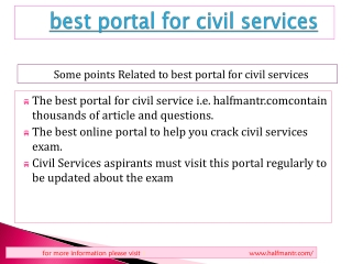 Leading Guide about best portable for civile services