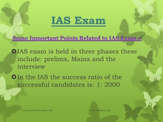 Knowledge about IAS Exam
