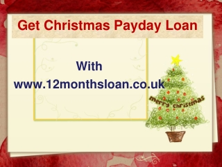 Get Christmas Payday Loan