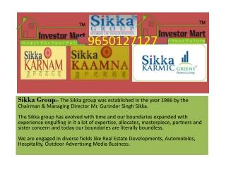 Sikka Karnam ultra-modern flats in Noida