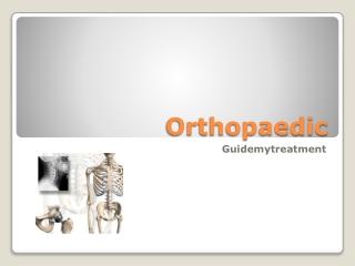 Orthopaedic in Noida