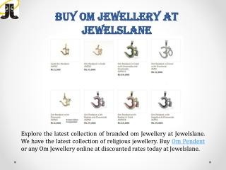 Buy Om Pendant Online