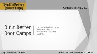 Built Better Bootcamps