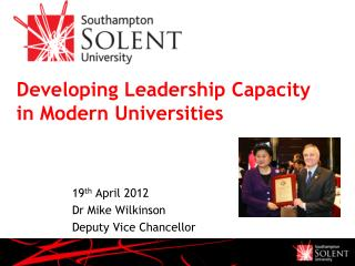 Developing Leadership Capacity in Modern Universities
