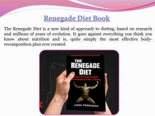 Renegade Diet Plan
