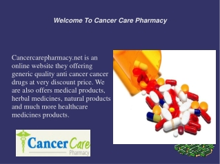 Types Of Anti Cancer Drugs And That Uses