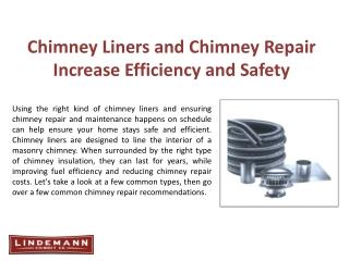DuraFlex Chimney Liner