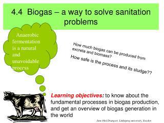 4.4  biogas