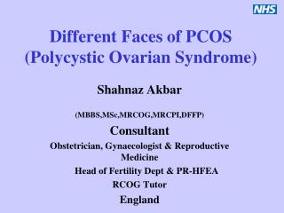 Different Faces of PCOS Polycystic Ovarian Syndrome