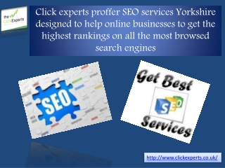 SEO Services yorkshire