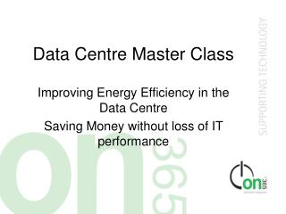 Data Centre Master Class
