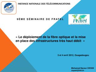 Instance nationale des t l communications