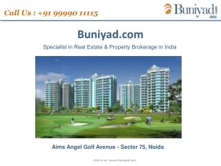 Aims Golf Avenue Sector 75 Noida|99990-11115
