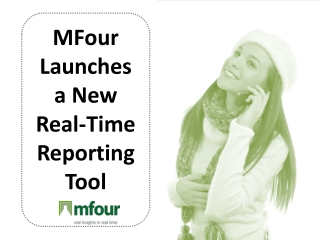 Mfour Launches a New Real-Time Reporting Tool