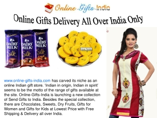 Online Shopping Gifts in India with Gift Ideas