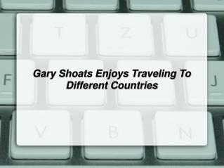 Gary Shoats