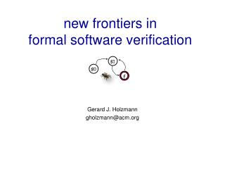 New frontiers in formal software verification