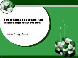 3 year loans bad credit loans