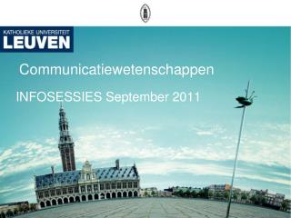 Communicatiewetenschappen