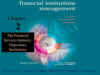 The Financial Services Industry: Depository Institutions