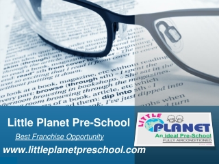 Preschool Franchise in India