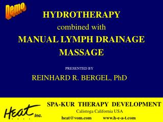 hydrotherapy combined with