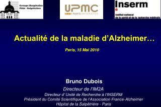 Actualit  de la maladie d Alzheimer