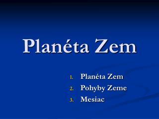 Plan ta Zem