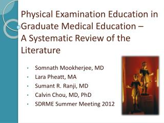 Physical Examination Education in Graduate Medical Education    A Systematic Review of the Literature