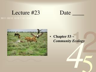 Lecture 23   Date ____