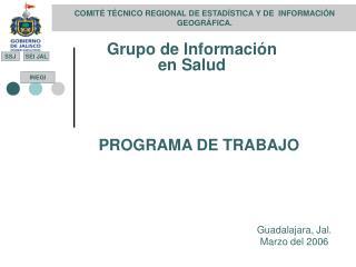 COMIT  T CNICO REGIONAL DE ESTAD STICA Y DE  INFORMACI N GEOGR FICA.