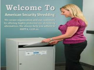 Office Shredding Services