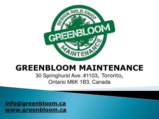 Green Bloom - Clean UPS