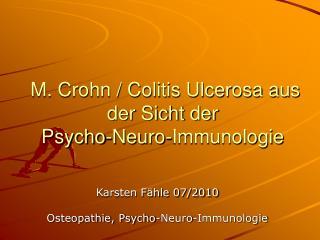 M. Crohn