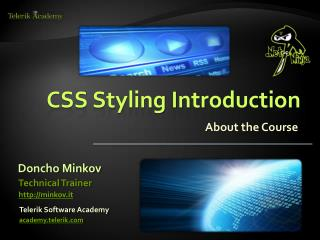 CSS Styling Introduction
