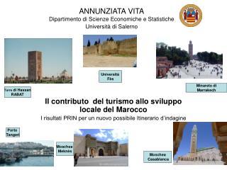 ANNUNZIATA VITA Dipartimento di Scienze Economiche e Statistiche Universit  di Salerno