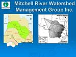 Mitchell River Watershed Management Group Inc.