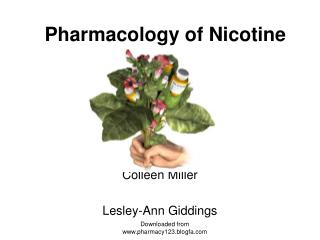 Pharmacology of Nicotine