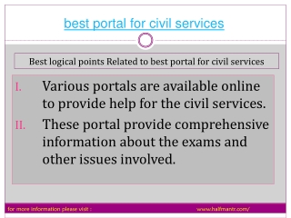 The exhaustive knowledge guide about best portal for civil s