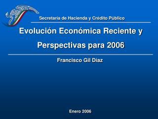 Evoluci n Econ mica Reciente y Perspectivas para 2006