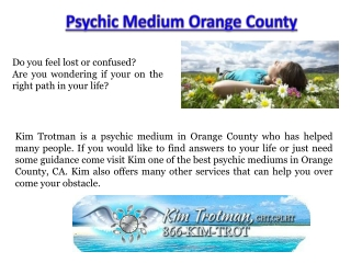 Orange County Psychic