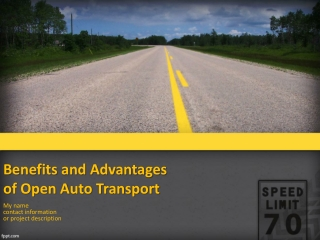 Benefits and advantages of open auto transport