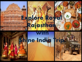 Rajasthan Tour Packages with Shine India Trip