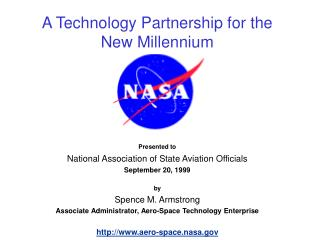A Technology Partnership for the  New Millennium