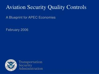 Aviation Security Quality Controls