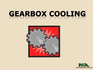 Gearbox cooling