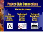 project civic connections