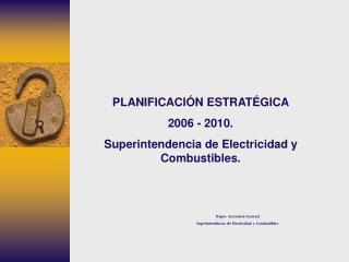 Depto. Secretar a General Superintendencia de Electricidad y Combustibles
